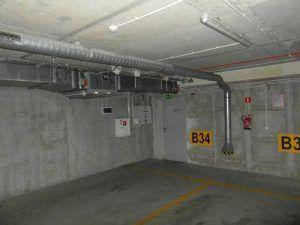 System wentylacji w garażu podziemnego