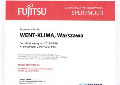 Fujitsu Split Multi 2015